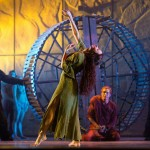 Alessandra Ferrari as Esmeralda & Matt Laurent as Quasimodo, Notre Dame de Paris World Tour cast, Crocus City Hall picture image