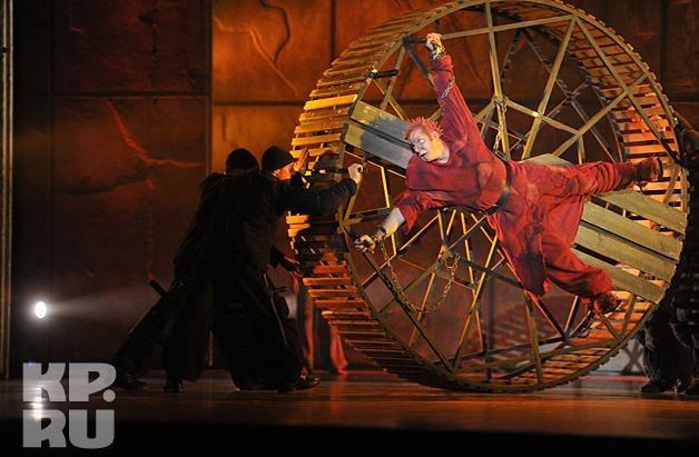 Matt Laurent as Quasimodo,World Tour Notre Dame de Paris Crocus City picture image
