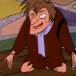Quasimodo on the Pillory  in Hunch, The Critic