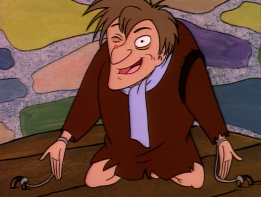 Quasimodo on the Pillory in Hunch, The Critic picture image