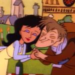 Quasimodo and Esmeralda  in Hunch, The Critic
