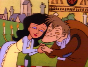 Quasimodo and Esmeralda in Hunch, The Critic picture image