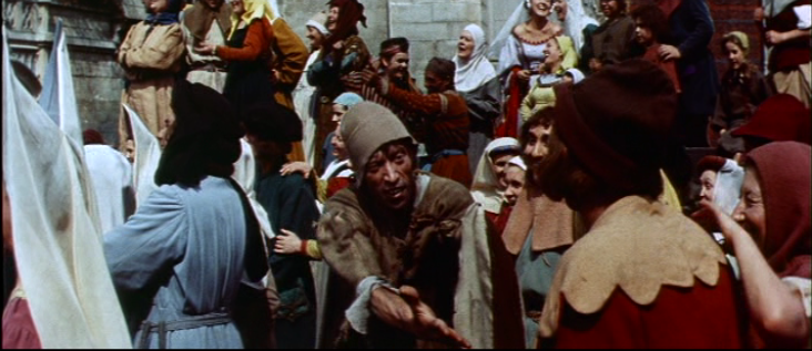 Philippe Clay as Clopin, 1956 Hunchback  of Notre dame  picture image