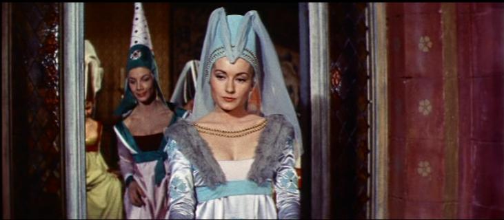 Danielle Dumont as Fleur de Lys, 1956 Hunchback of Notre dame picture image