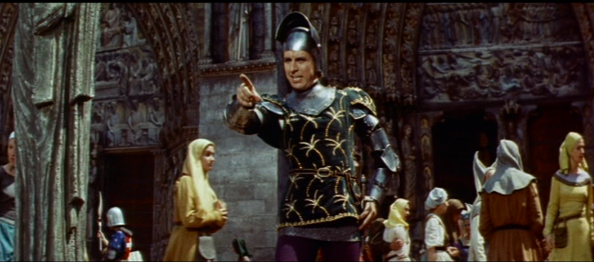 jean Danet as Phoebus,1956 Hunchback of Notre dame picture imge