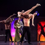 Candice Parise as Esmeralda, Stephen Webb as Phoebus with Dancers, Notre Dame de Paris, Asian Tour picture image