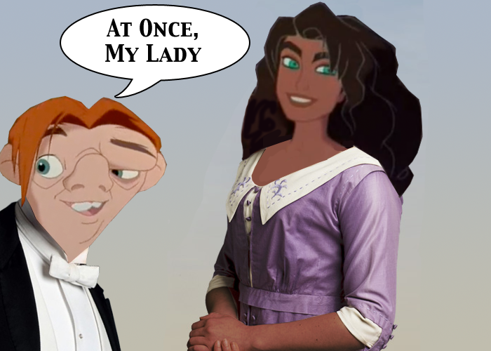 HUnchback of Notre Dame Downton Abbey parody