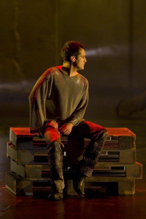 Yvan Pedneault as Phoebus, Notre Dame de Paris World Tour Cast picture image