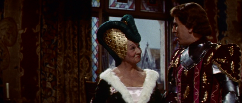 Valentine Tessier as  Aloyse de Gondelaurier, 1956 Hunchback of Notre Dame picture image