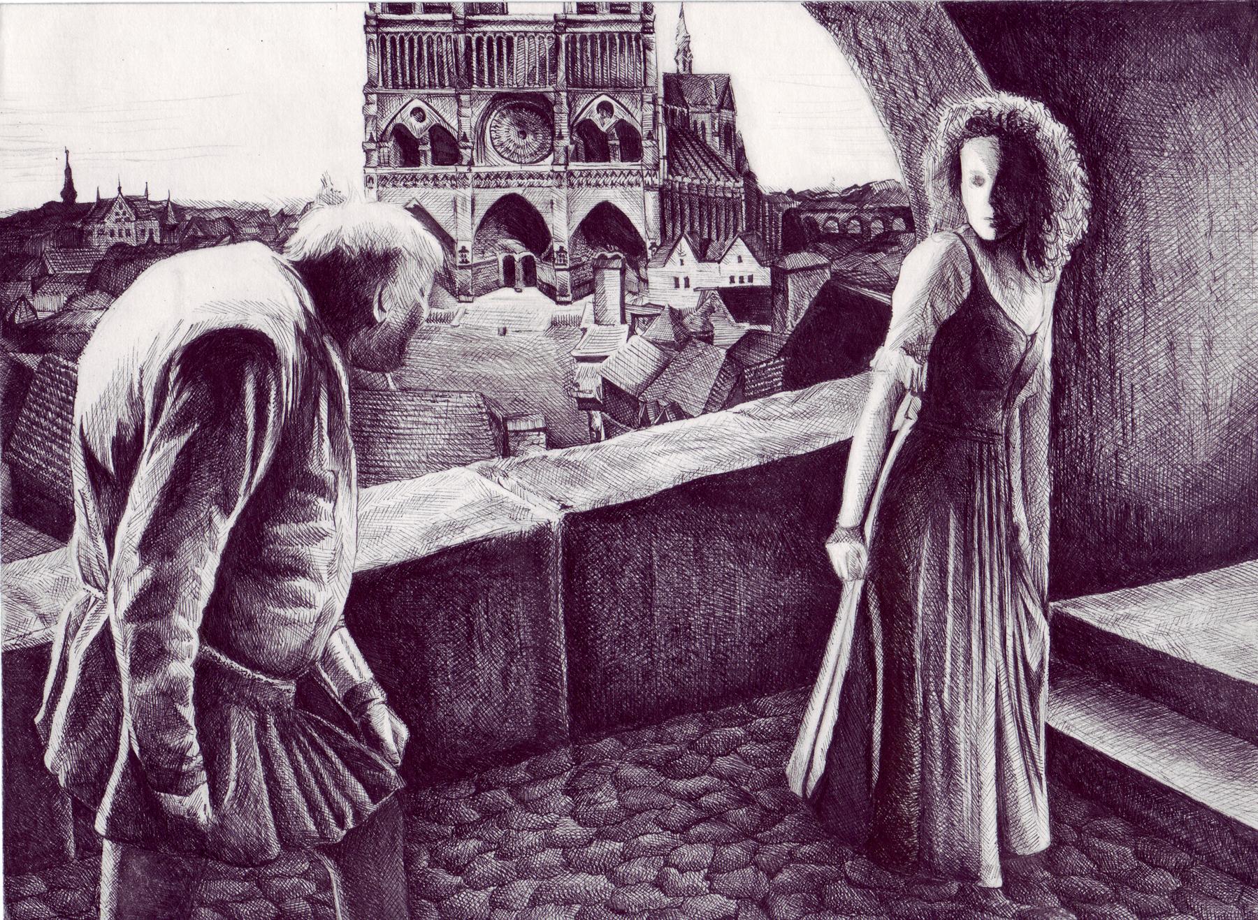 Hunchback Of Notre Dame by Mimitchki