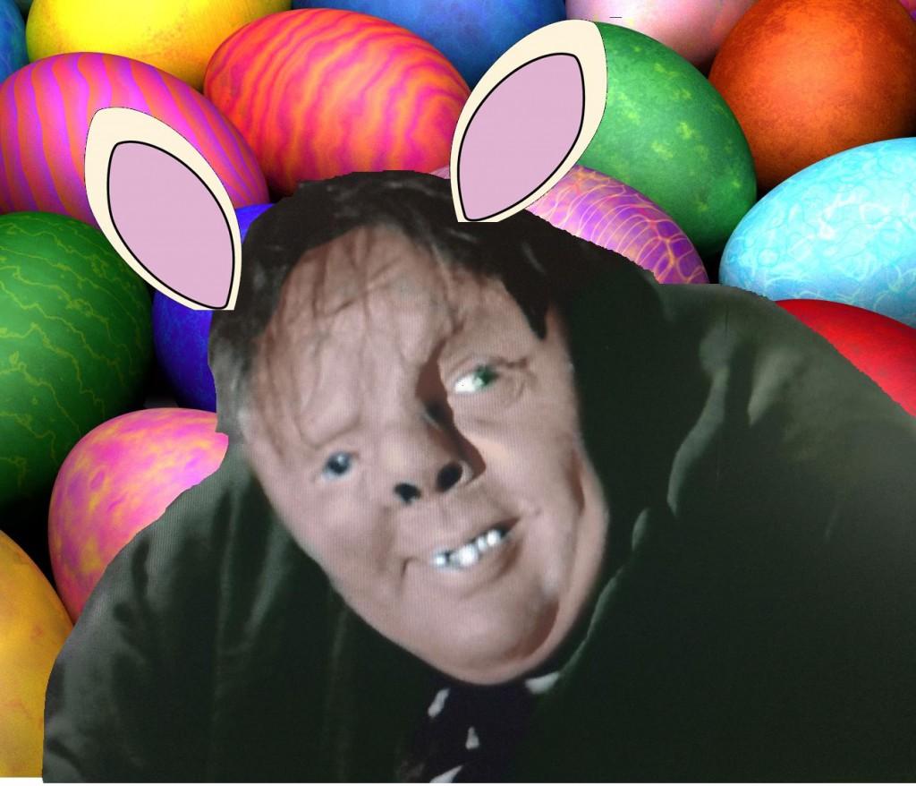 Quais-Easter Bunny by Professor Donohue