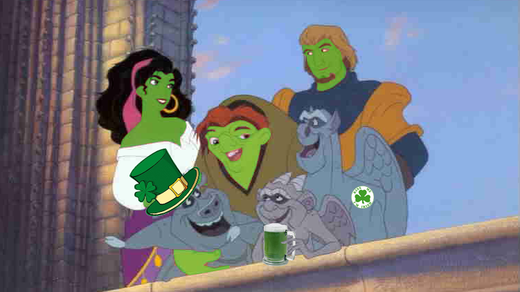 Happy St Patrick's Day Hunchback style