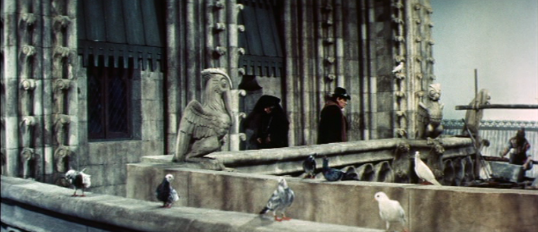 The upper Set of Notre Dame, 1956 Hunchback of Notre Dame, picture image