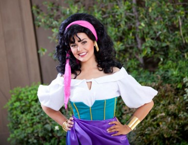 Esmeralda from Disney's Hunchback of Notre Dame picture image