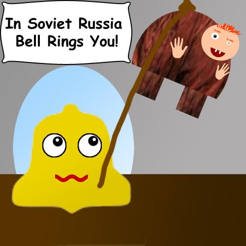 In Soviet Russia Hunchback Notre Dame Joke, picture image