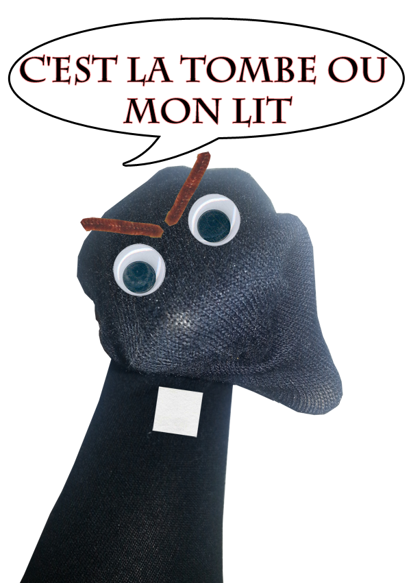 Sock Puppet Frollo from Notre Dame de Paris picture image