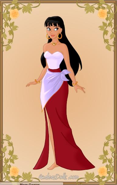 Jetlag Esmeralda made with Azalea Dolls, picture image