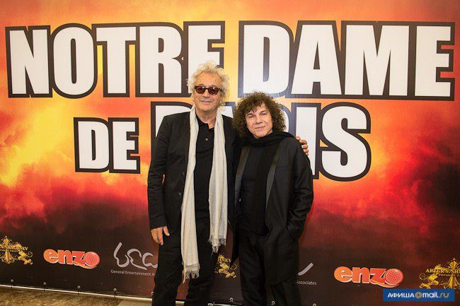 Richard Cocciante and Luc Plamondon,Notre Dame de Paris, World Tour, Crocus City Hall , picture image