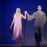 Elicia MacKenzie as Fleud de Lys & Yvan Pedneault as Phoebus, Notre Dame de Paris, World Tour, Crocus City Hall, picture image