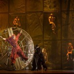 Matt Laurent as Quasimdo & Robert Marien as Frollo, Notre Dame de Paris, World Tour, Crocus City Hall, picture image