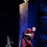 Candice Parise as Esmeralda & Matt Laurent as Quasimodo, 2012 Asian Tour of Notre Dame de Paris, picture image