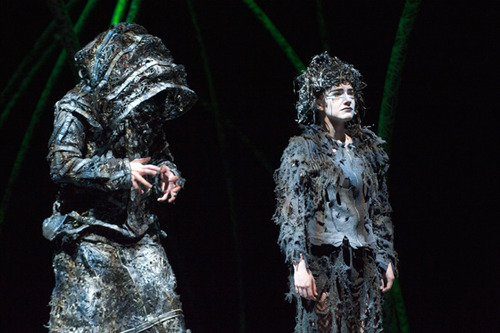 Scott Walters as Claude Frollo & Ava Markus as La Esmeralda, Hunchback picture image