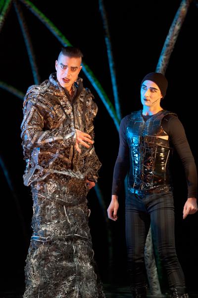 Scott Walters & Jeremy Baumung as Pierre Gringoire, Hunchback