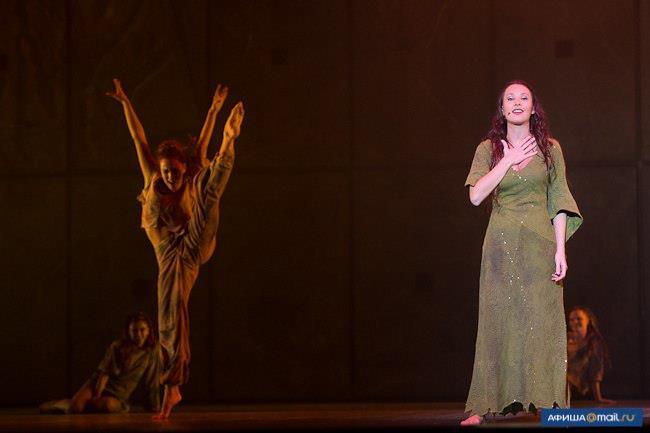 Alessandra Ferrari as Esmeralda, Notre Dame de Paris, World Tour, Crocus City Hall picture image
