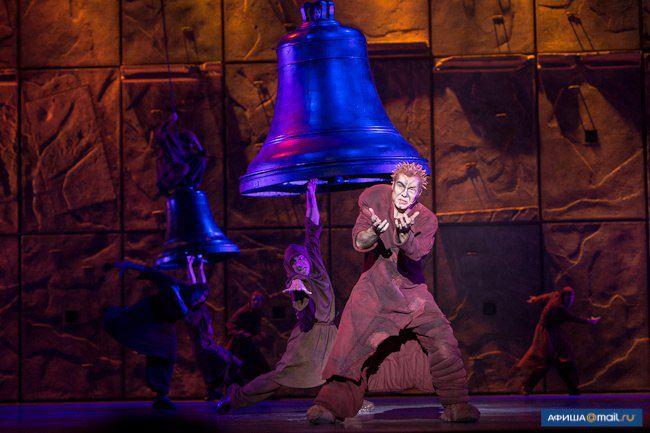 Matt Laurent as Quasimodo, Notre Dame de Paris World Tour cast, Crocus City Hall piccture image