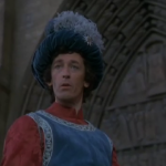 Robert Powell as Phoebus, 1982 Hunchback of Notre Dame picture image