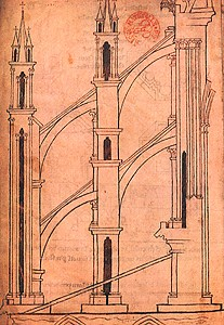 Illustration of Flying Buttresses picture image