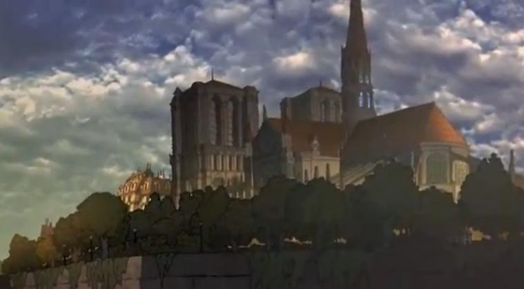 Notre Dame, Rugrats in Paris, picture image
