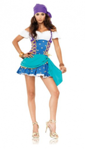 Gypsy Princess Adult Plus Costume picture image