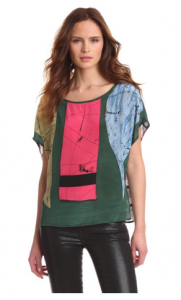 Tolani Women's Emerald Tunic Top pictue image