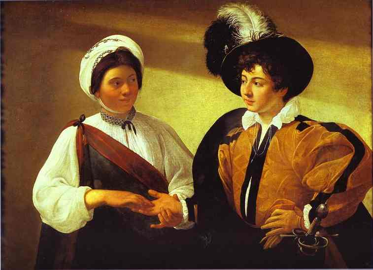 The Fortune Teller by Caravaggio picture image