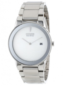 Citizen Men's A Eco-Drive Axiom Watch, Fleur de Lys, picture image
