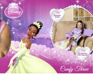 Disney Princess Tiana Comfy Throw picture image