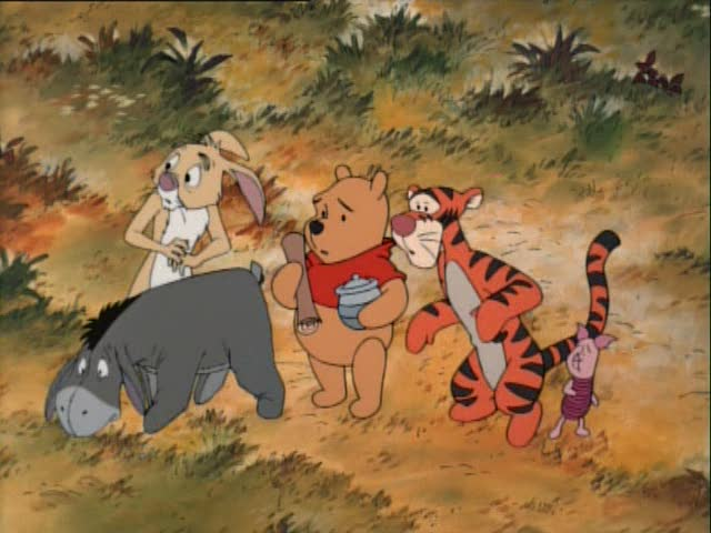 Rabbit, Eeyore, Pooh, Tigger and Piglet, Pooh's Grand Adventure the Search for Christopher Robin picture image