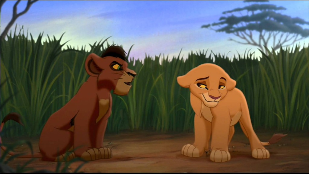 Kovu and Kiara as Cubs, The Lion King 2: Simba's Pride picture image
