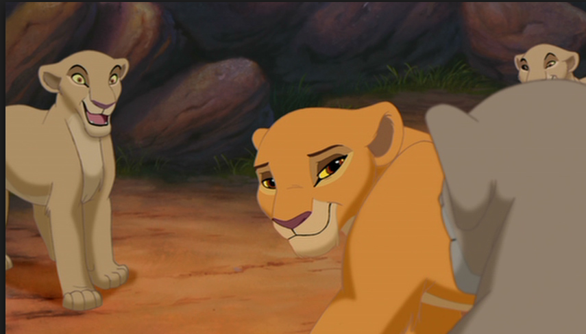 Kiara's as a debutante, The Lion King 2: Simba's Pride  picture image