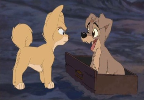 Angel and Scamp, Lady and the Tramp II: Scamp's Adventure