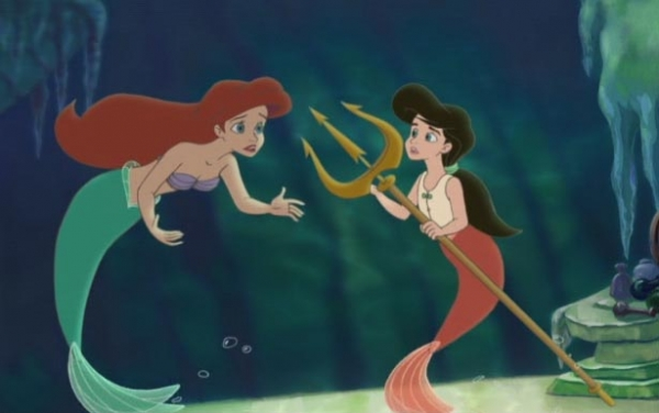 Ariel and Melody, The Little Mermaid II; Return to the Sea picture image