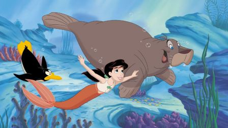Melody with Tip and Dash, The Little Mermaid II; Return to the Sea picture image