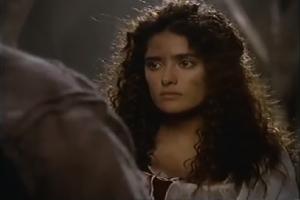 Salma Hayek as Esmeralda, 1997 The Hunchback picture image