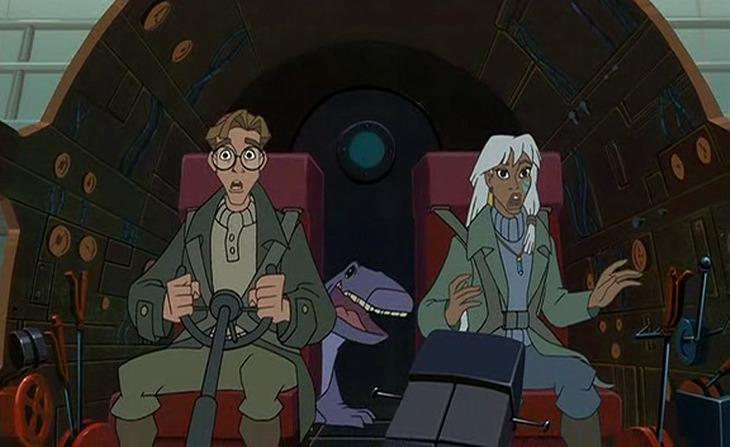 Milo, Obby, Kida Atlantis; Milo's Return picture image