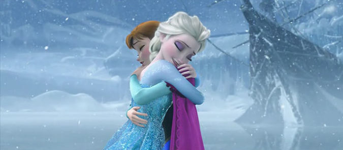 Elsa and Anna frozen picture image