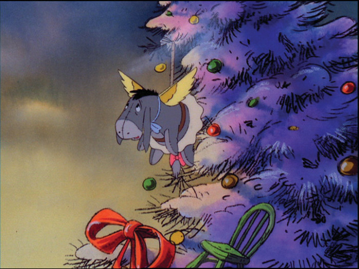 Eeyore on the Christmas Tree Winnie the Pooh: A Very Merry Pooh Year picture image