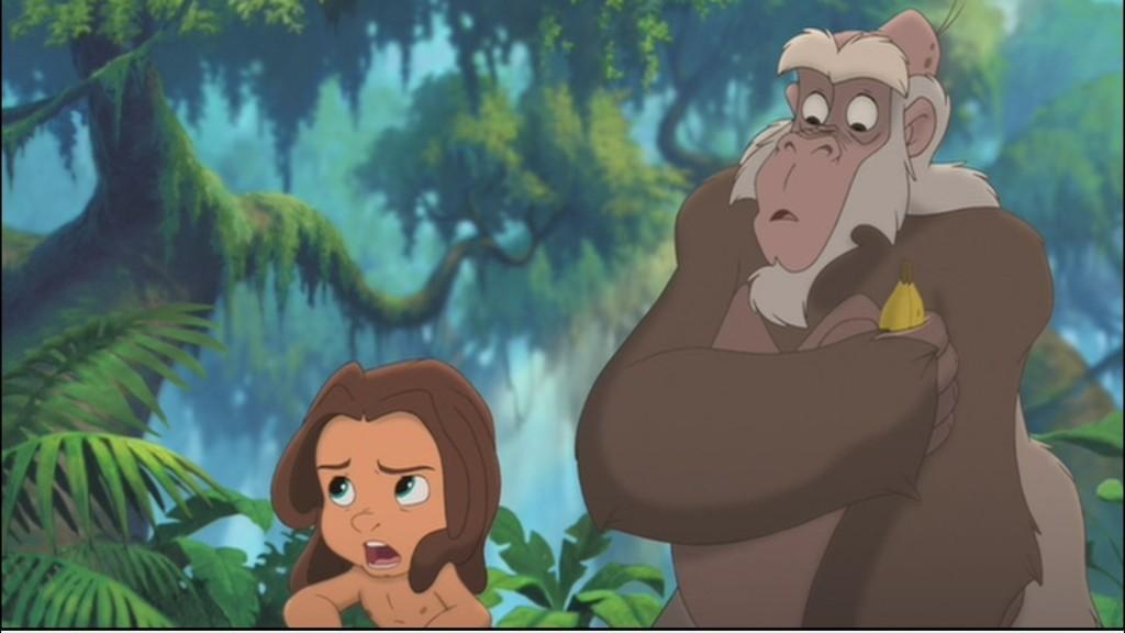 Tarzan and Zugor Tarzan II picture image