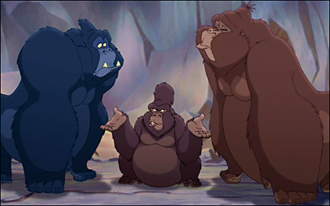 Kago, Gunda and Uto Tarzan II picture image