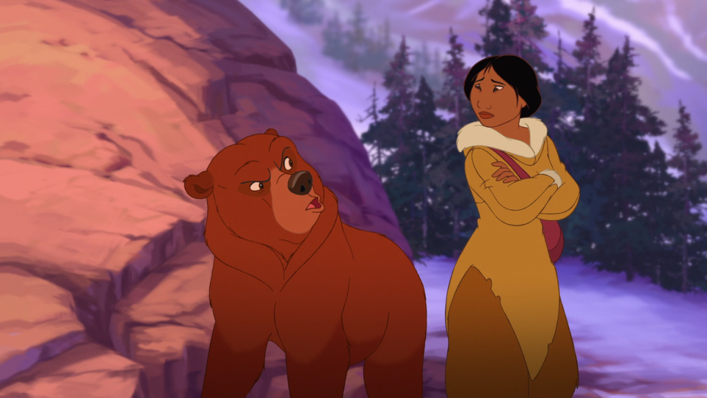 Nita and Kenai  Brother Bear 2  picture image
